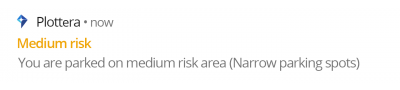 Notification-medium-risk